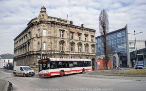Zastępczy autobus Solaris Urbino 12.